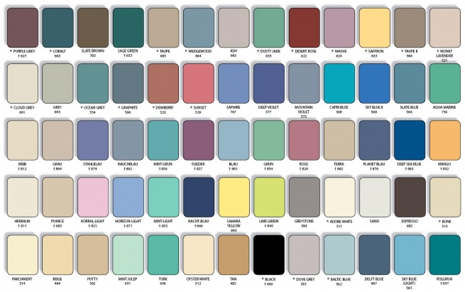 Swatch for available upholstery colours